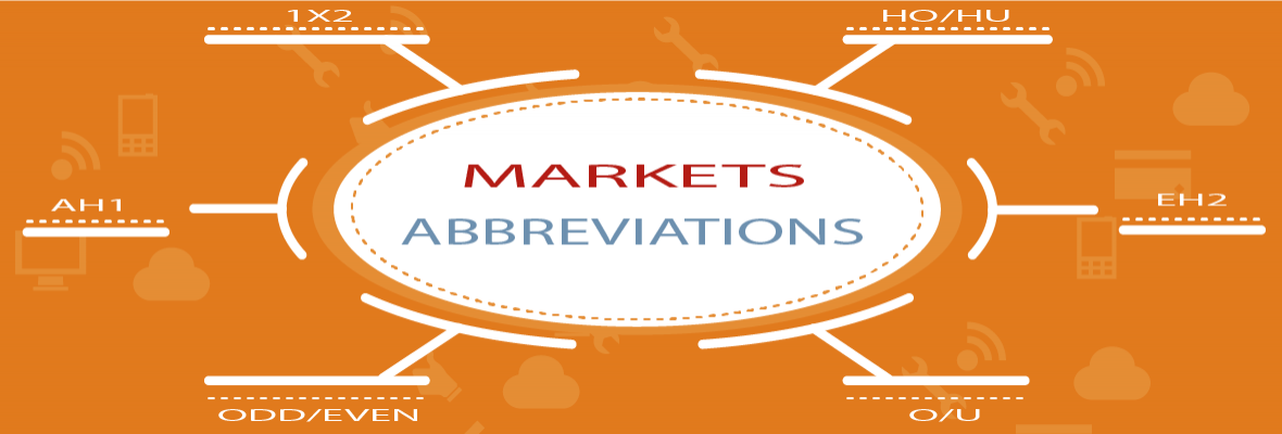Abbreviations used for the sport markets