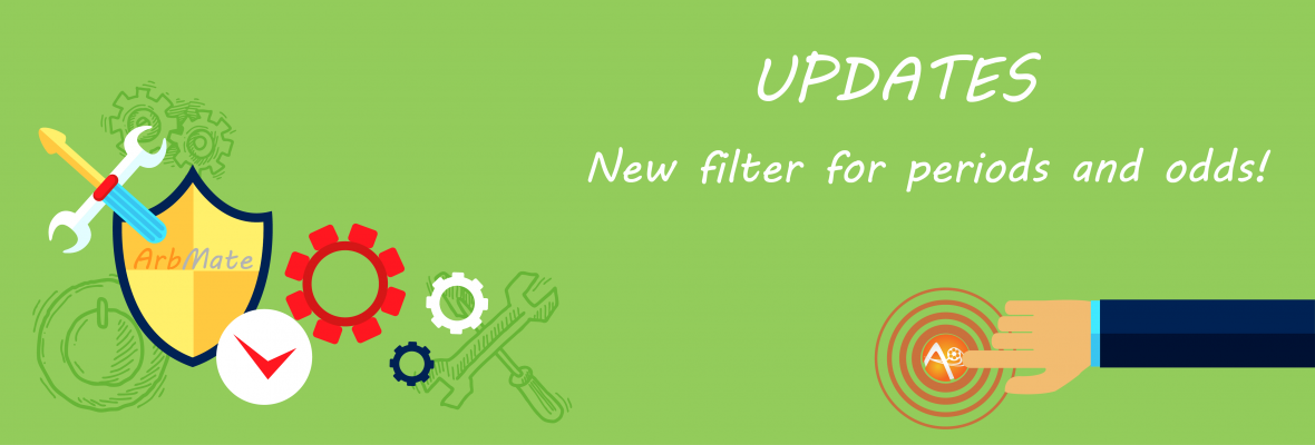 New filter for periods and odds higher than